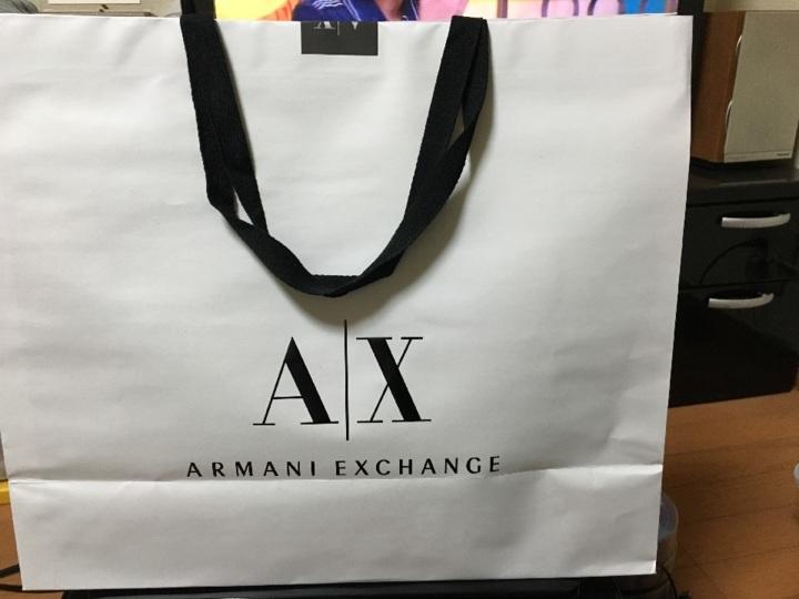 ARMANI EXCHANGE トート ♡Happy Life♡  6332477b183eb